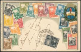 © 1905 ARGENTINA Republic Phrygian cap