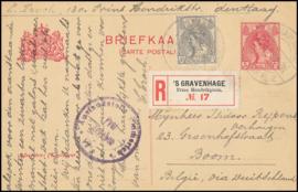 ® 1918 - CATA 62 Kroon en leeuw