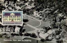 ®®® 1961 - CATA 368 - SURINAME Statengebouw