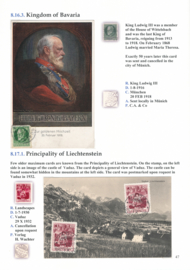 8.16.3. Kingdom of Bavaria and 8.17.1 Liechtenstein
