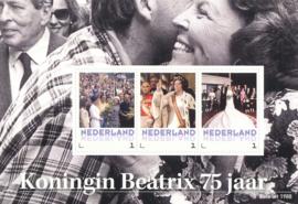 * Koningin Beatrix *  75 jaar