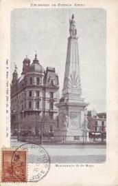 © 1903 ARGENTINA Republic statue Phrygian cap