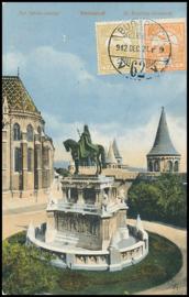 © 1912 - HUNGARY St. Stephen's crown