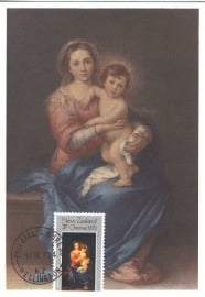 1972 NEW ZEALAND Madonna and child