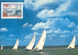 1968 HUNGARY - Sailing Lake Balaton