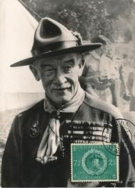 ®® 1957 NVPH 259 NED. ANTILLEN Baden Powell Scouting