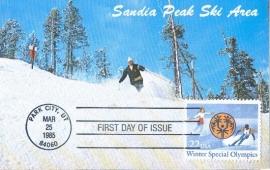 1985 USA - Skiing Park City Utah