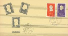 ®®® 1970 - CATA 550/51 - SURINAME Ludwig von Beethoven