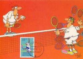 ®® 1981 NVPH 685 NED. ANTILLEN Tennis