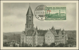 © 1934 LUXEMBOURG Clervaux Abbey