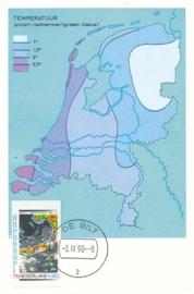 ® 1990 CATA 1447d Landkaart Nederland