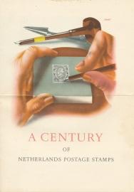 æ 1952 - Jubileumzegels Folder - Engels