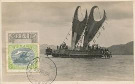 © 1954 - PAPUA Local boat