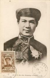 © 1938 INDO CHINA Emperor Bao-Dai