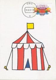 2002 NETHERLANDS Circus tent