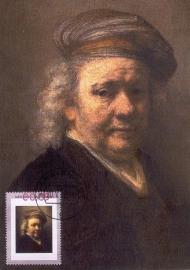 R005 REMBRANDT Zelfportret 1667