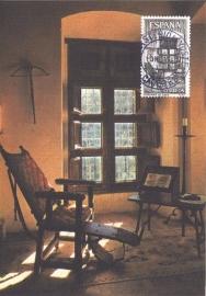 1965 SPAIN - Room of Charles V