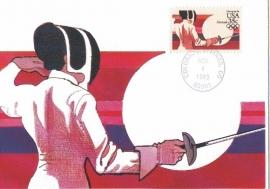 1983 USA - Fencing