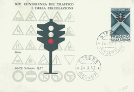 1957 ITALY - Traffic light