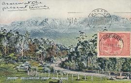 © 1911 - TASMANIA - AUSTRALIA - Mount Wellington