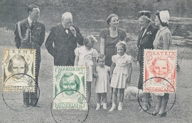 ® 1946 - CATA 454/455/458 Prinsessen Irene Margriet Beatrix