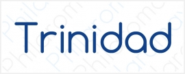 Trinidad >>>>>>>>>>>>