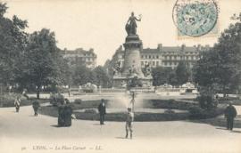 © 1907 - FRANCE Statue of the Republic - Lyon