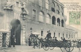 © 1908 - MONACO Prince Albert I