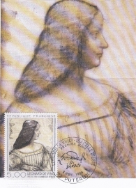 1986 FRANCE - Da Vinci - Isabelle d'Este