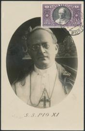 © 1934 VATICAN CITY - Pope Pius XI