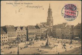 © 1911 - GERMAN REICH - Dresden Statue Germania