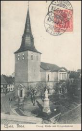 © 1907 - GERMAN REICH *** Wald *** Statue Germania