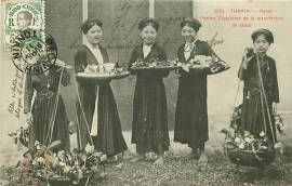 © 1911 INDO CHINA Annamite women