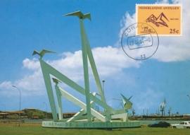 ®® 1963 NVPH 336 NED. ANTILLEN Monument Onafhankelijkheid