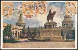 © 1915 - HUNGARY St. Stephen's crown