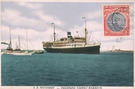 © 1930 - BAHAMAS Sailing ship