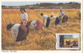 1976 PORTUGAL - Harvest Grain