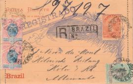 © 1897 - BRAZIL Sugar loaf mountain