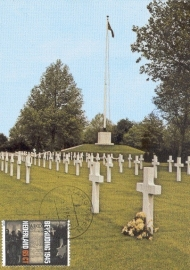 1985 NETHERLANDS WW II Cemetary Margraten