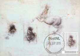 þþ - 2013 Da Vinci Study for Leda and horse