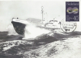 1974 NETHERLANDS Rescue Lifeboat