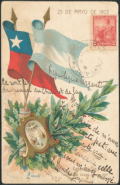 © 1903 ARGENTINA Coat of arms