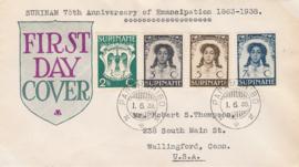 ¤¤¤ 1938 SURINAME Emancipatie