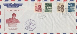 ¤¤¤¤¤ NVPH 45/48 Ned. Nieuw Guinea Kinderzegels