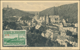 © 1921 LUXEMBOURG Clervaux Abbey