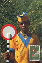 1973 NETH. ANTILLES Traffic sign