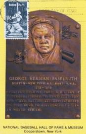 1983 USA - Baseball Legend Babe Ruth