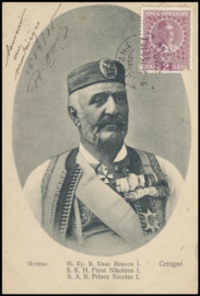 © 1915 MONTENEGRO - King Nicolas I