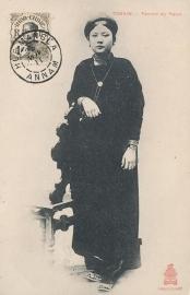 © 1911 INDO CHINA Annamite woman