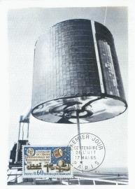 1965 FRANCE - Satellite